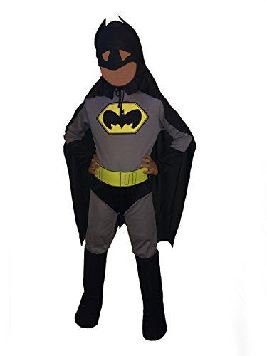 Disguise DC Comics Classic Batman Kids Bodysuit Role Play Super Hero Halloween Costume Large 11-14