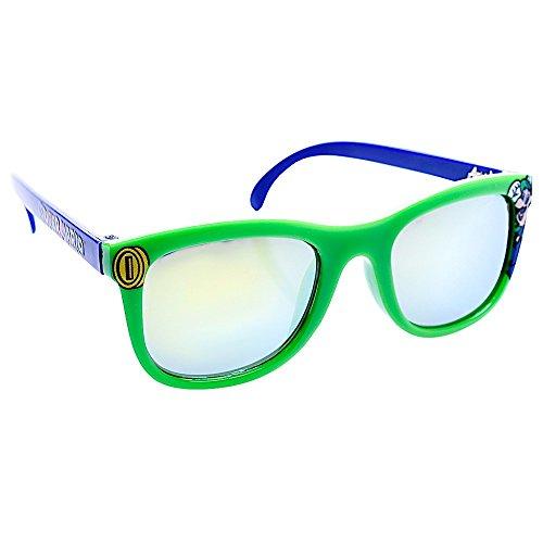 Costume Sunglasses Kids Luigi Frame Arkaids Party Favors UV400