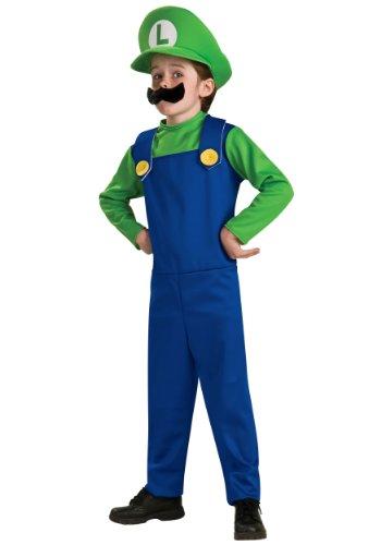 Luigi Child Costume - Medium