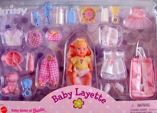 Barbie KRISSY BABY LAYETTE Doll Accessories Set 1999