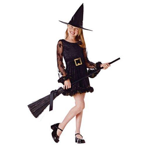 Adorable Witch Child Costume Size Medium