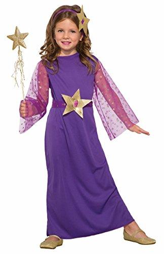 Forum Novelties 79108 Enchanting Witch Childs Costume Medium Purple