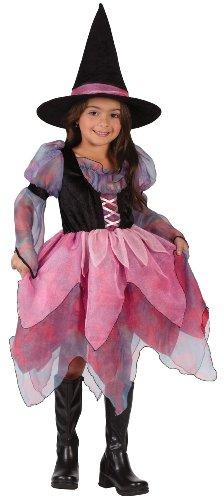 Fun World - Wonderful Witch Child Costume - Medium 8-10 - Pink