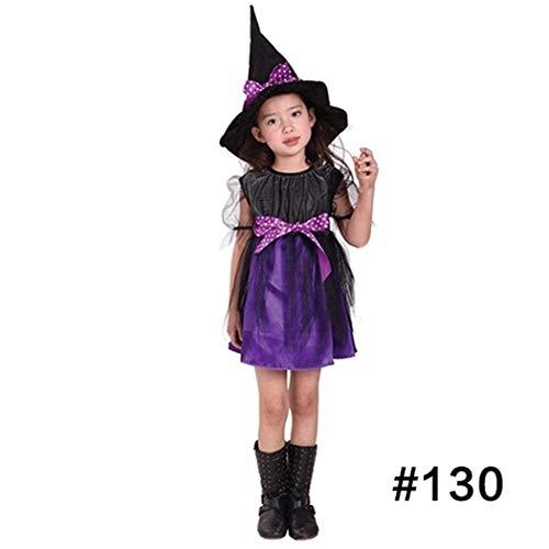 Yiiena 5 Styles Halloween Costume Kids Halloween Costume Children Witch Cloak Cape Bat Cosplay Party Makeup Costumes