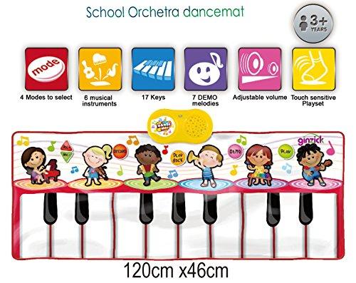 School Orchestra Music Piano Fun Dance Mat