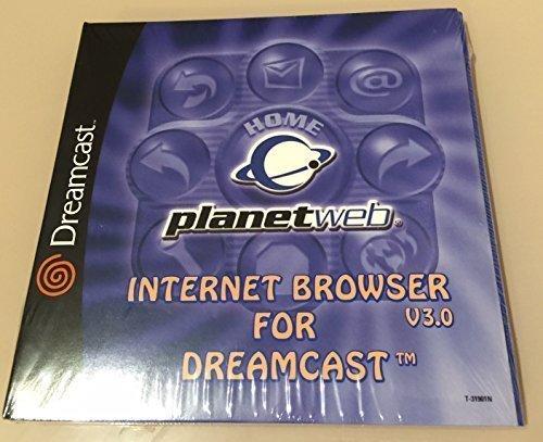 Planetweb Internet Web Browser version 30 for Sega Dreamcast
