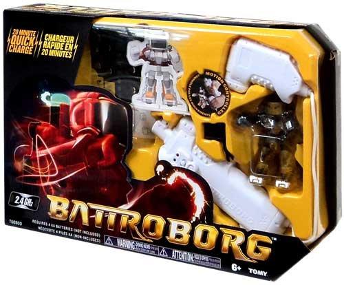 Battroborg Battling Robot Single Pack ALL GOLD