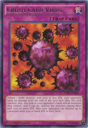 Yu-Gi-Oh - Crush Card Virus DPBC-EN020 - Duelist Pack 16 Battle City - 1st Edition - Rare