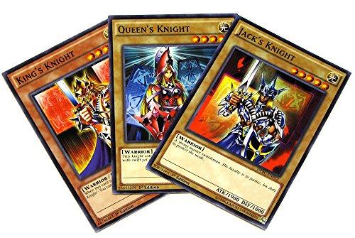 Yu-Gi-Oh Duelist Pack Battle City Knight Set of all 3 Single Cards DPBC-EN012 EN013 EN014