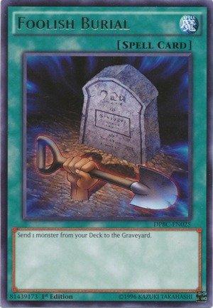 Yu-Gi-Oh - Foolish Burial DPBC-EN025 - Duelist Pack 16 Battle City - 1st Edition - Rare