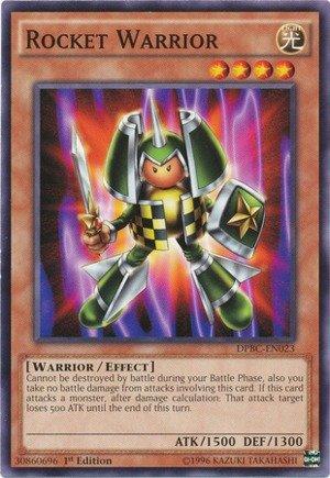 Yu-Gi-Oh - Rocket Warrior DPBC-EN023 - Duelist Pack 16 Battle City - 1st Edition - Common