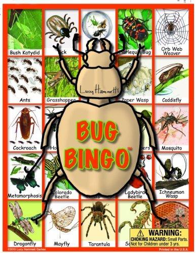 Bug Bingo Board Game by Lucy Hammett Games