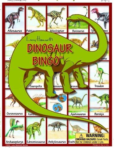 Dinosaur Bingo Board Game by Lucy Hammett Games