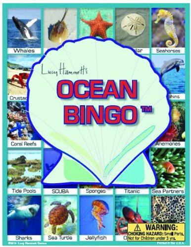 Ocean Bingo Board Game