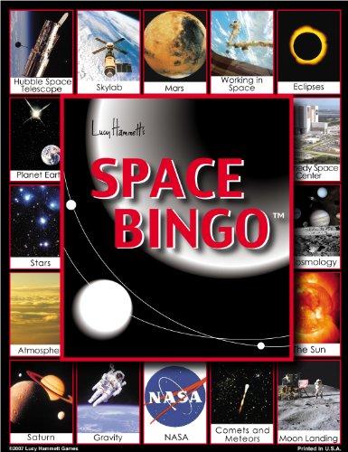 Space Bingo Board Game