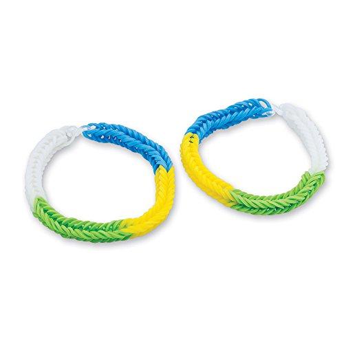 Rainbow Stretchy Band Bracelets - Kids Play Jewelry - 24 per pack