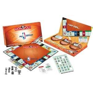 My NBA Monopoly Board Game