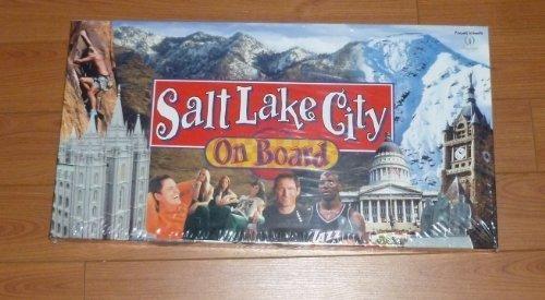 Salt Lake City On Board Monopoly Board Game
