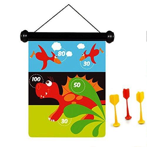 Scratch Dinosaur Sports Magnetic Darts Game by Scratch