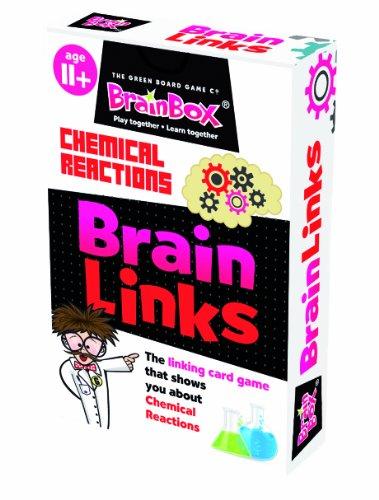 Green Board Games BrainBox BrainLinks Chemical Reactions