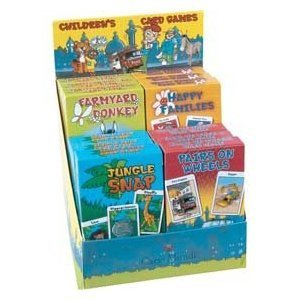 Childrens Card Games various designs by CARTAMUN