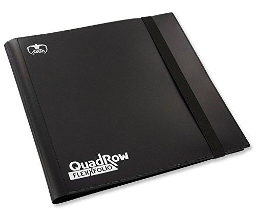 Ultimate Guard QuadRow 12-Pocket FlexXFolio Black Card Game