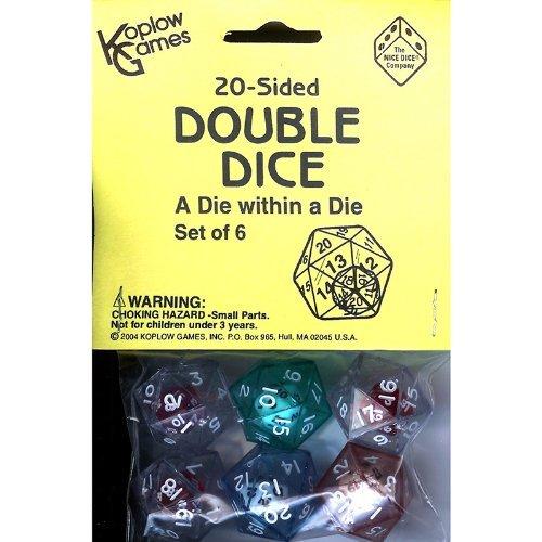KOPLOW GAMES INC KOP12622 20 SIDED DOUBLE DICE by Koplow Games