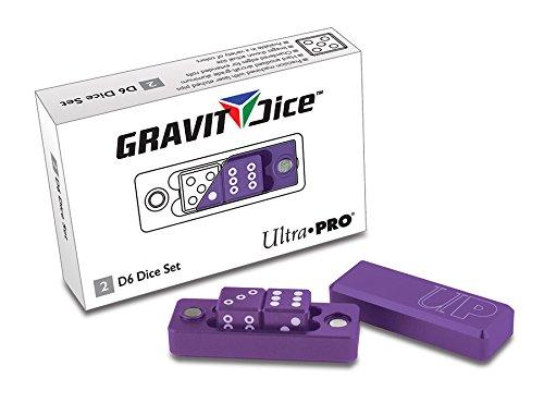 D6 - 2 Dice Set Gravity Dice - Royal