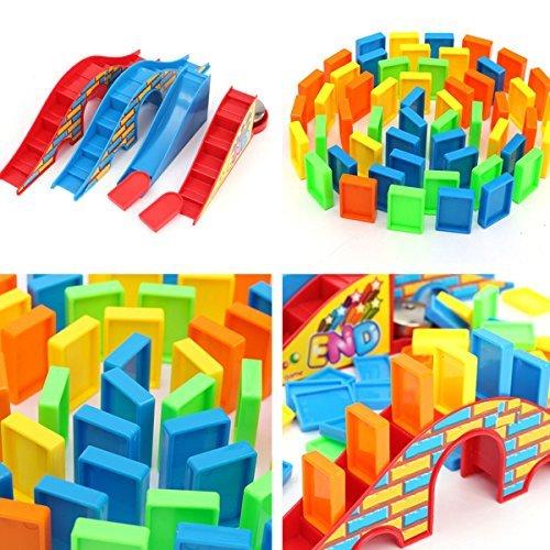 106pcs Set Colorful Authentic Standard Plastic Children Kids Domino Game Toys item GHU-75LOP-J6450