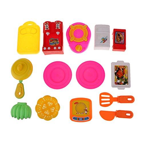 Cooking Kitchenware Set Kids Children Kitchen Cook Role Play Pretend Toy Kit