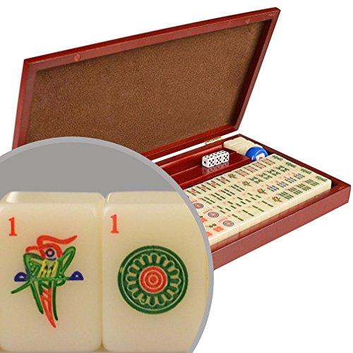 American Mini Mahjong Mahjongg Mah Jongg Mah-Jongg 166 Tiles Set - Travel Set