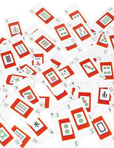 POPLAY Mahjong CardsPVC PlasticSet of 144