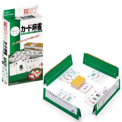 Portable Mahjong Card NEW japan import by Hanayama