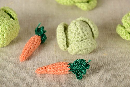 Handmade Toy Designer Toy Soft Toy Crocheted Toy Gift For Baby Unusual Toy