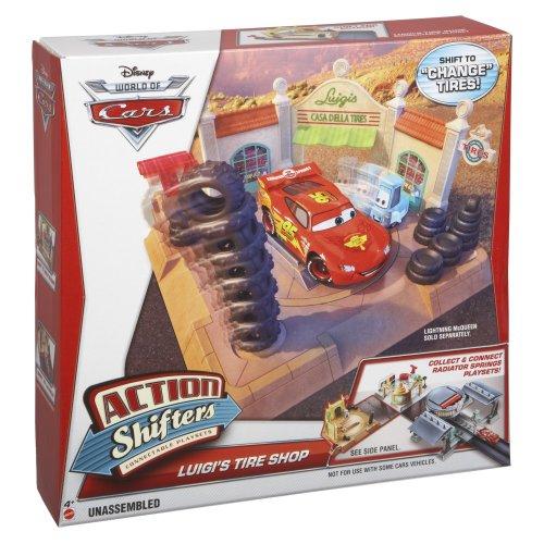DisneyPixar Cars Action Shifters Luigis Playset