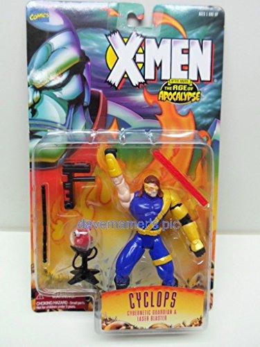 Qiyun X Men Age of Apocalypse Toybiz Cyclops Action Figure with Cybernetic Guardian An 035112494188