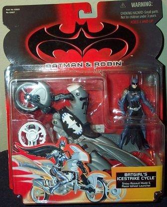 Batman Robin Batgirls Icestrike Cycle Action Figure