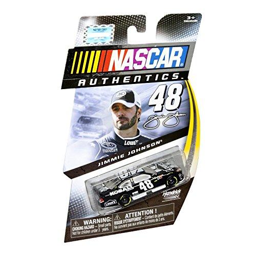 2012 NASCAR AUTHENTICS 48 JIMMIE JOHNSON LOWES Kobalt Dark Blue With Racing Stripes 164 164 SCALE DIECAST RACE CAR