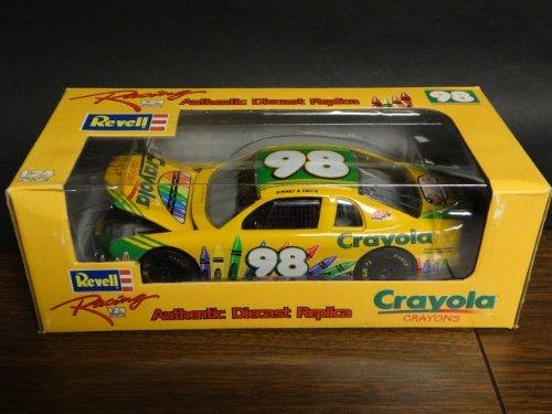 Crayola 98 Binney Smith 1998 NASCAR Diecast Race Car 124 Scale