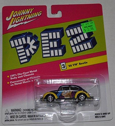 1966 VW Beetle - Pez - Volkswagen - Johnny Lightning - Diecast Car