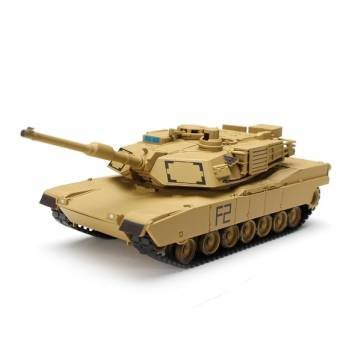 Heng Long No8802 172 US M1A2 ABRAMS Tank Model Collectible by Completestore