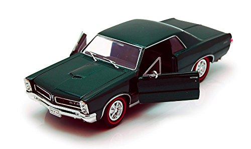 Welly 1965 Pontiac GTO Green 22092 - 124 Scale Diecast Model Toy Car