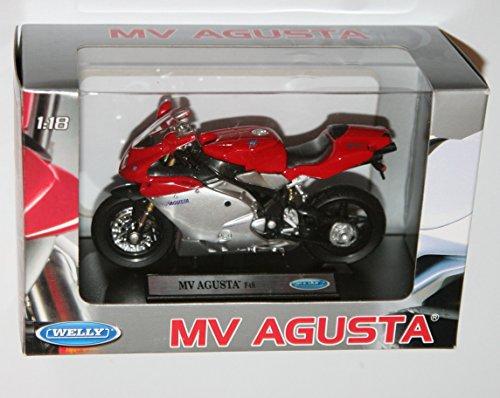 Welly Mv Agusta F4S Die Cast Motorbike Model Scale 118