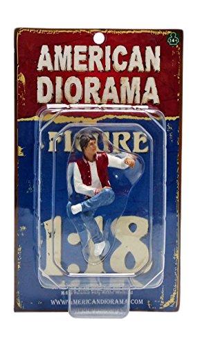 American Diorama 23887 Sitting Figure Adam for 1-18 Scale Models