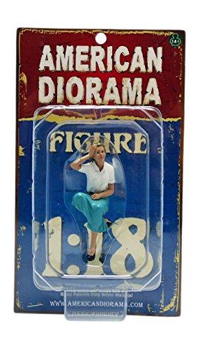 American Diorama 23888 Sitting Figure Kristan for 1-18 Scale Models