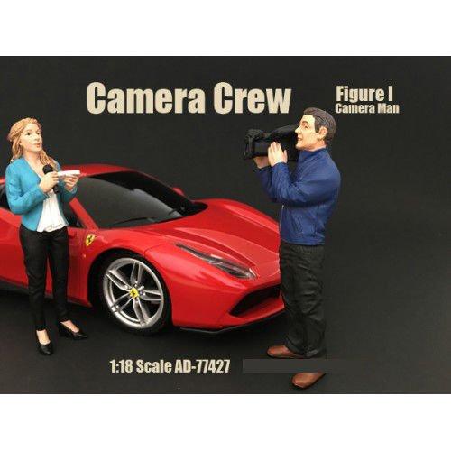 Camera Crew Figure I Camera Man For 118 Scale Models by American Diorama 77427