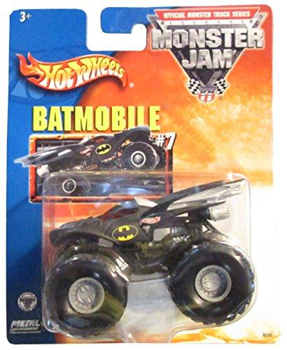2004 Hot Wheels Monster Jam Metal Collection 164 Scale Truck- Batmobile 7