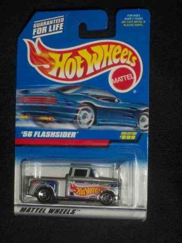 Hot Wheels - 56 Flashsider - Collector 899 164 Scale Truck Replica Silver Body Color