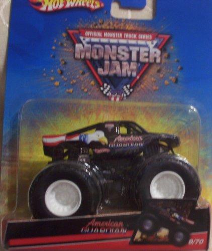 Hot Wheels Monster Jam 970 AMERICAN GUARDIAN 164 Scale Truck