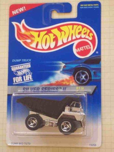 Silver Series 2 1 Dump Truck Black Dump Bed 420 Collectible Collector Car Mattel Hot Wheels 164 Scale